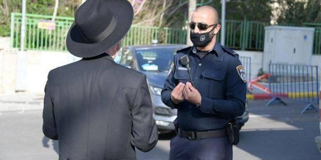 выписаны штрафы десяткам ешиботников в Бней-Браке