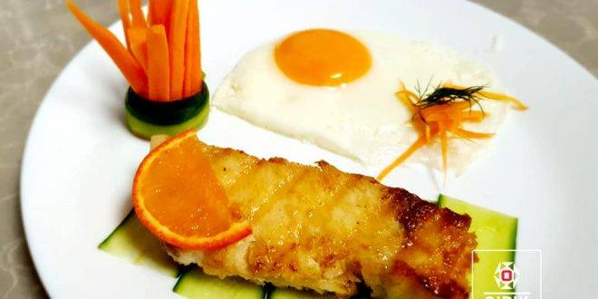 Здоровый завтрак для здоровых людей!