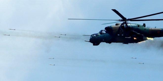 Появилась информация о сбитом вертолете ВВС Азербайджана, упавшем на территории Ирана