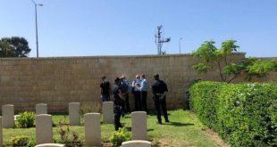 На хайфском кладбище обнаружен непогребенным труп младенца
