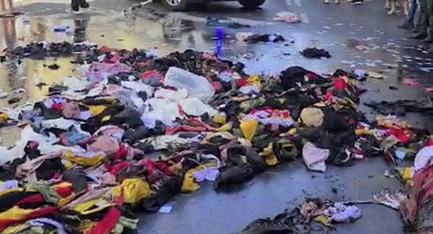 Акция протеста в Тель-Авиве: владельцы малого бизнеса сожгли свои товары