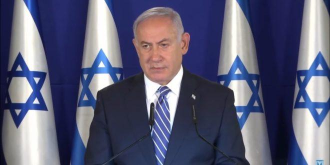 Израильский премьер протянул с трибуны Кнессета руку дружбы Ливану
