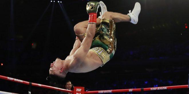 знаменитый танцующий украинский боксер побит третий раз в жизни. ВИДЕО
