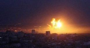 Израиль ударил по Газе в ответ на ракетный обстрел