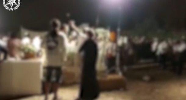 Оркестр и танцы: в лесу Бен-Шемен полиция разогнала свадьбу, где было 300 гостей,