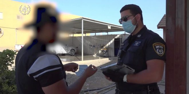 за выходные израильская полиция выписала более двух тысяч штрафов