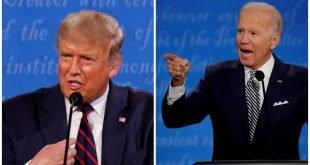 Новые опросы в США: Трамп опережает Байдена