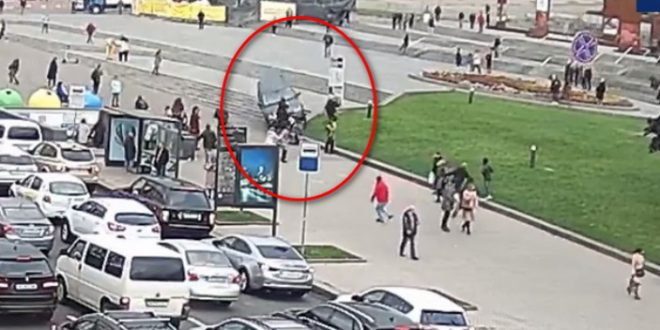 Бывший высокопоставленный украинский чиновник протаранил группу пешеходов в центре Киева