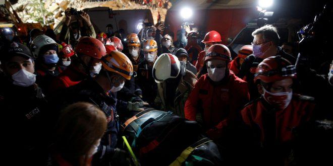Число погибших и пострадавших от землетрясения в Турции удвоилось