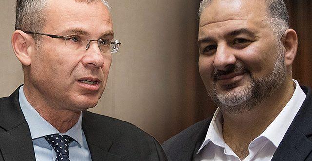 Ярив Левин и Мансур Аббас опубликовали совместное заявление