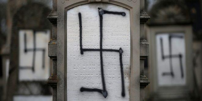 фашисты, антисемиты и сатанисты осквернили кладбище