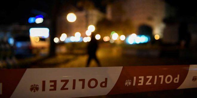 Обнародованы кадры с места теракта в Вене