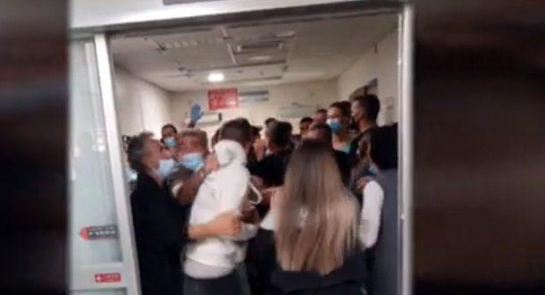Массовая драка в больнице «Асаф а-Рофе» произошла из-за смерти больной COVID-19