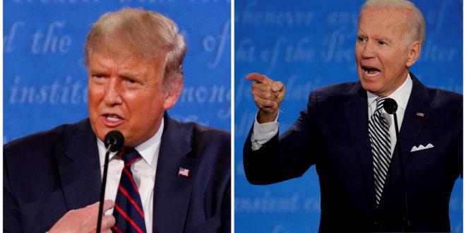 Выборы в США: лидирует Байден, побеждает Трамп