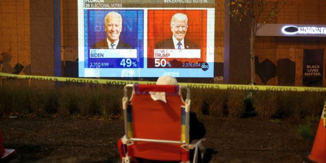 Невада приостановила подсчет голосов, здесь разрыв между кандидатами составляет полпроцента