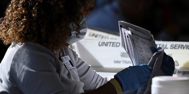 Один из ключевых штатов США полностью пересчитает голоса на выборах