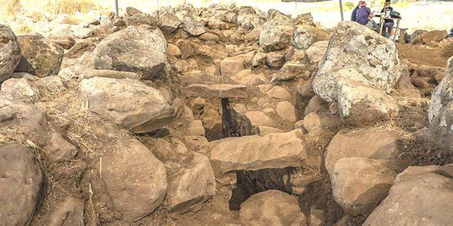 на Голанах обнаружили военное укрепление времен царя Давида