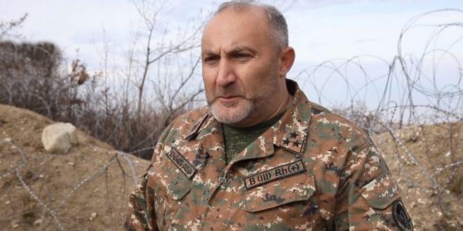 """командир подразделения """"армии Арцаха"""" отказался оставлять боевые позиции в Нагорном Карабахе"""