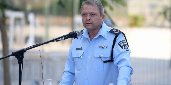 Главный полицейский Израиля будет руководить органами из карантина