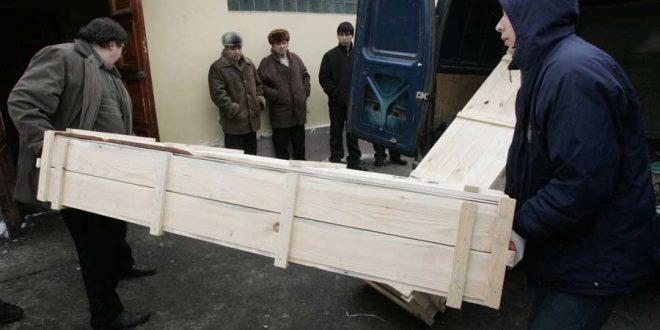 В Киренске дорогу вместо гравия устлали ковром из человеческих останков