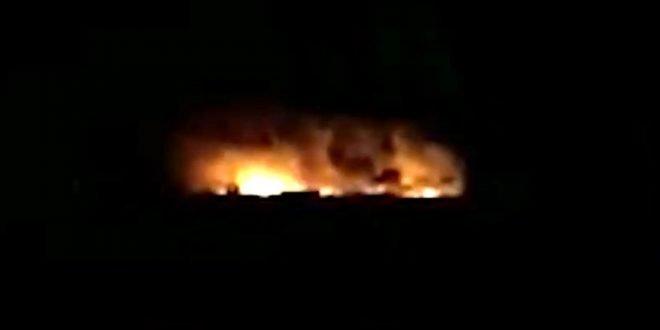 Израиль нанес массированный удар по Сирии