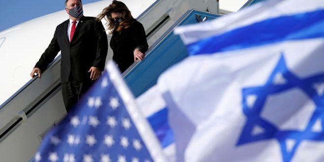 Его прощальный поклон? Майк Помпео прилетел в Израиль из Грузии
