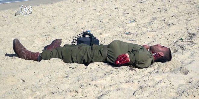 полиция и армия отработали вторжение террористов с побережья