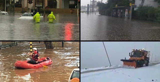 «Весь дом в воде»: затопления и перебои в подаче электричества по всей стране