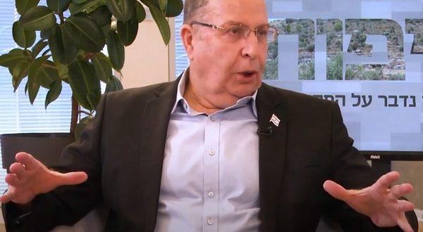 Яалон: буду главой новой партии, второй в списке — Айзенкот