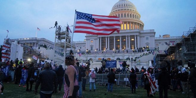 В США оценили, во сколько обойдется ремонт Капитолия после штурма